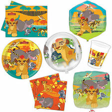 Disney's The Lion Guard King Children's Party Plates Napkins Tableware Listing