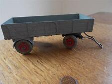 Vintage Dinky Toys SuperToys Grey Farm Trailer Diecast Tinplate Meccano 4.25""
