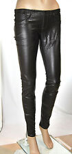 Jeans Pantaloni Donna Ecopelle MET Made in Italy C999 Tg S