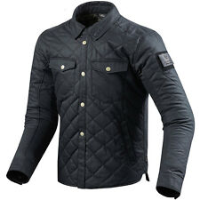 Rev'it! Westport Dark Blue Overshirt Jacket Urban Retro Motorcycle Rev it Revit