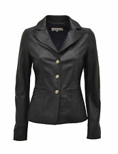 GIACCA IN VERA PELLE DONNA BLAZER WOMAN REAL LEATHER JACKET