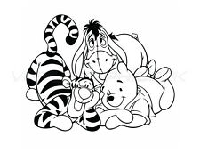 Winnie the Pooh and Friends Wall Sticker for Nursery / Child's Bedroom