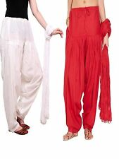 RamE Cotton Semi  Patiala Salwar free size for women,ladies