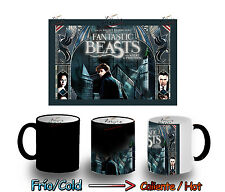 TAZA MAGICA HARRY POTTER ANIMALES ENCONTRARLOS MAGIC MUG tasse es