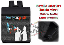 MOCHILA TWENTY ONE PILOTS GRUPO backpack rucksack ES