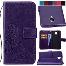 Clover Patterns Case for Huawei Various Phones PU Leather Wallet Stand Cover
