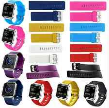 Soft Silicone Sport Replacement Watch Band Wristband Strap For Fitbit Blaze
