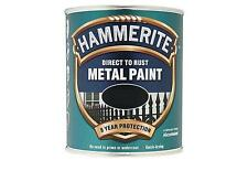 Hammerite Satin Direct To Rust Metal Paint- ALL COLOURS SIZES STOCKED