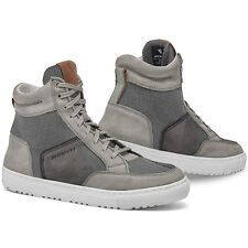 Rev'it! Taylor Grey Urban Scooter Motorcycle Motorbike  Boots Shoes Rev it Revit