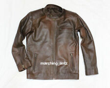 New Soft Genuine Leather Lambskin Motorcycle Biker Jacket Blazer Bomber Coat 2TB
