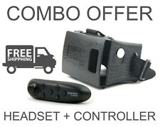 COMBO Offer DOMO nHance VRF3+Headstrap+BC2 Controller Remote 3D Video VR Headset