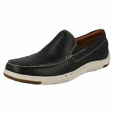 Men's Clarks Unstructured by Clarks Slip On Casual Shoes Label - Unmaslow Easy
