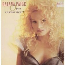 "RAIANA PAIGE Open Up Your Heart 12"" MAXI VINYL UK Sleeping Bag 4 Track"