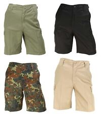 Mens BDU Cargo Shorts Casual Combat US Army Military Style Bermuda Shorts