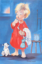 Dallas Simpson SO EARLY IN THE MORNING children's print, PREMIUM QUALITY new