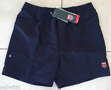 JUNIOR K-SWISS REVENGE TENNIS SHORTS - NAVY BLUE - MED / LARGE / XL  ***NEW***