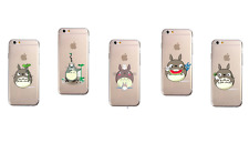 Studio Ghibli MY NEIGHBOUR TOTORO Soft Case Cover for iPhone 5/5s/SE 6/6s Plus