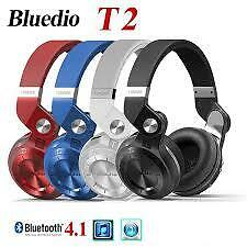 Bluedio T2 Foldable Style Bluetooth V4.1 +EDR Headset Wireless Headset