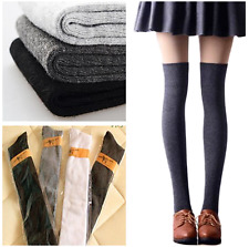 Women's  Sexy Warm Thigh High Over The Knee Socks Long Cotton Stockings