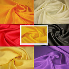 SPECIAL OFFER Back Crepe Satin Fabric - Medium Weight 44 Inches Wide, ONLY £2.99