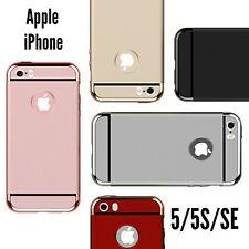 *3 in1 Hybrid Ultra Slim Back Cover Case For Apple iPhone 5/5S/SE *