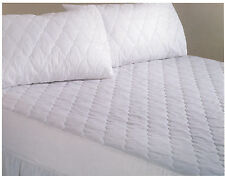 """Egyptian Cotton 200 Thread Count Quilted Mattress Protectors Extra Deep Box 15"""""""