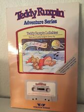 Teddy Ruxpin Lullabies Book and Tape Adventure Series Brand New in Box