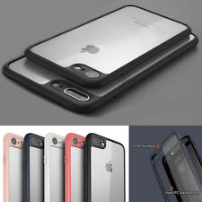 BUMPER CUSTODIA CASE COVER TRASPARENTE silicone morbido pr APPLE IPHONE 6 7 plus