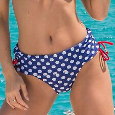 Pour Moi Starboard Fold Adjustable Brief - Navy/Red (68003)