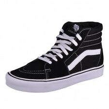 Vans Sk8-Hi Lite black/white black Trainers Shoes Hi-tops Boat VN0A32R2MQW
