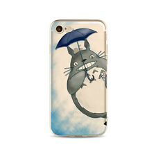 Studio Ghibli MY NEIGHBOR TOTORO Soft Clear Cover Case for iPhone 6 6s 7 8 Plus