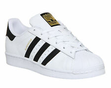 Adidas Superstar  White/black Retro Casual Trainers sizes 7-13   C77124