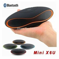 Portable Rugby wireless bluetooth mini stereo speaker USB/MicroSD Card