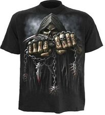 Spiral Game Over T-Shirt Gothic Bike Reape M - XXL # 3221 001