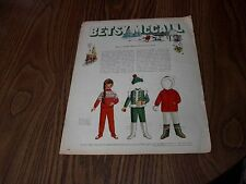 Paper Doll Betsy McCall