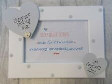 Wooden Personalised 21st Birthday Photo Frame Gift PROMT DISPATCH