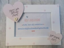 Wooden Personalised 40th Birthday Photo Frame Gift PROMT DISPATCH
