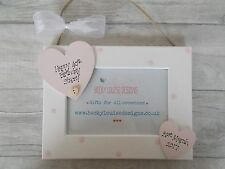 Hanging Wooden Personalised 40th Birthday Photo Frame Gift PROMT DISPATCH