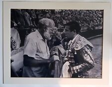 Ernest Hemingway and Spanish Bullfighters Photos (Printing) Spanish pictures