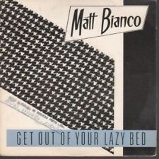 """MATT BIANCO Get Out Of Your Lazy Bed 7"""" VINYL Brazillian Wea Has Dj Stamp On"""