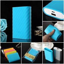 Skin Case Soft Silicone Protective Cover for Xiaomi Power Bank 10000 mAh