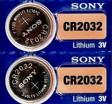 2 Piles Bottone 3V SONY CR2032 a LITIO ( DL2032 BR2032 KL2032 L2032 ECR2032 )