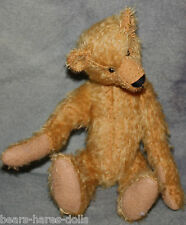 """Pattern, Mohair & Felt for  9"""" Jointed Teddy Bear and Jacket"""