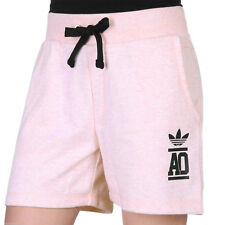 adidas Originals Womens Sweat Shorts Jersey Cotton Gym Pants - Pink