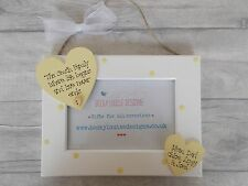 Hanging Wooden Personalised Family Memories Photo Frame Gift PROMT DISPATCH
