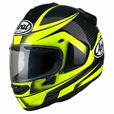 Arai Chaser X Tough Yellow Full Face Motorcycle Motorbike Helmet | All Sizes