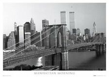 New Manhattan Morning, NYC New York City Collection Poster
