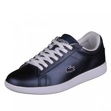 Lacoste Carnaby Evo 117 3 SPW NVY metallic blue Schuhe Sneaker 7-33SPW1012003