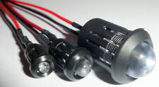 Ultra Bright 12v Pre-wired Constant/Flashing LEDs Prominent Holders