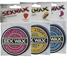 4 Sex Wax Air Freshener Mr Zogs - Coconut,Grape, Strawberry